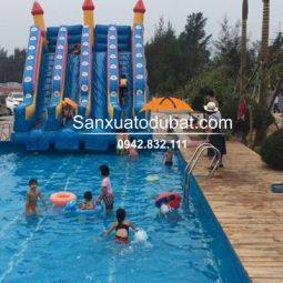 Bể bơi di động thông minh kích thước 12.6*20.1