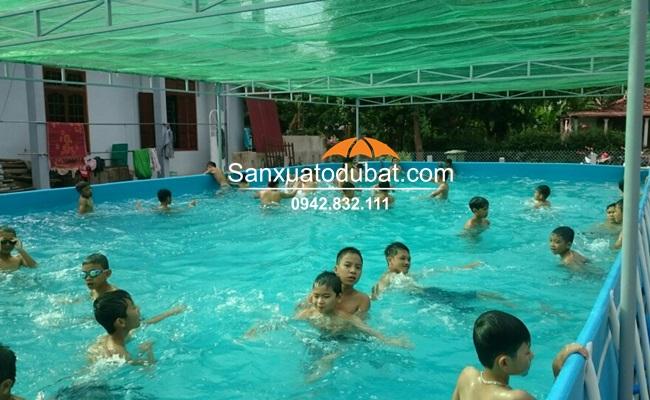 Bể bơi di động tại Quảng Trị