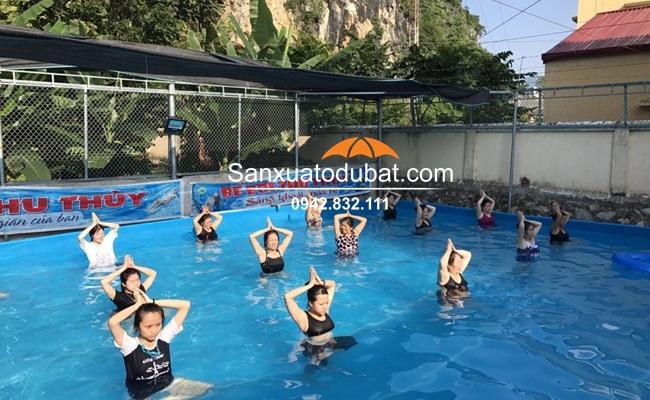 Bể bơi lắp đặt tại Lạng Sơn