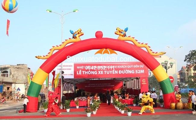 cổng chào sự kiện