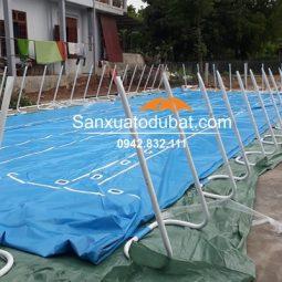 Bể bơi lắp ghép di động kích thước 9.6*15.6