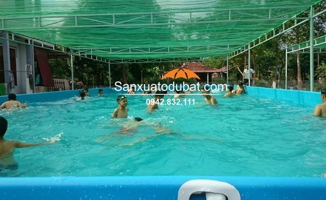 Bể bơi lắp ghép giá rẻ, bể bơi di động