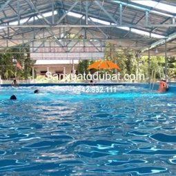 Bể bơi di động thông minh kích thước 15.6m x 24.6m