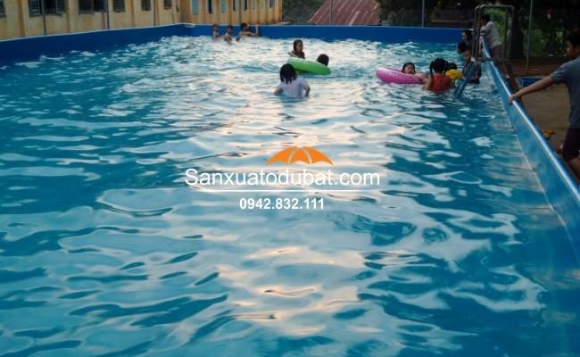 Bể bơi di động thông minh, bể bơi giá rẻ