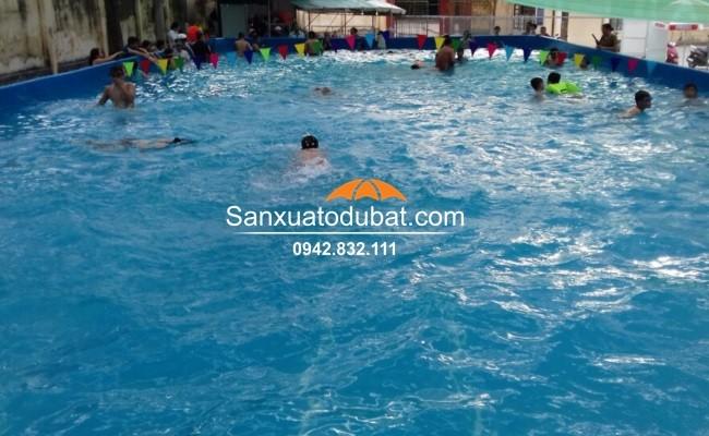 Bể bơi di động bể bơi lắp ghép thông minh