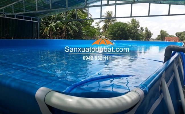 Bể bơi di động tại Tây Ninh
