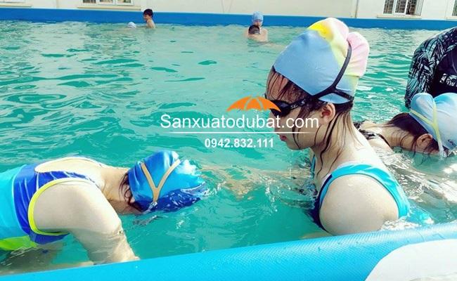 Bể bơi di động lắp đặt tại Thanh Hóa