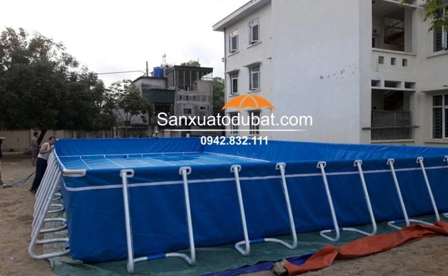 Bể bơi di động thông minh